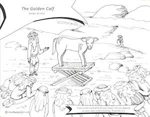 Resource Sheet Golden Calf Coloring
