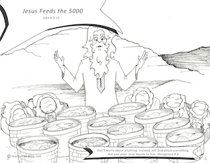 Jesus Feeds the 5000 | Teach Us the Bible
