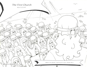 the first church teach us the bible paul teaching coloring page paul preaching crowds coloring page