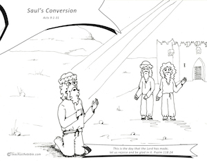 pauls conversion coloring sheet